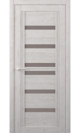 Миссури Soft touch Жемчужный стекло мателюкс бронза межкомнатная дверь