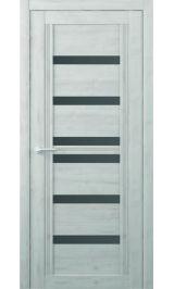 Миссури Soft touch Жемчужный стекло графит межкомнатная дверь