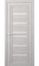 Миссури Soft touch Жемчужный молочное стекло межкомнатная дверь