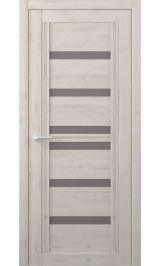 Миссури Soft touch Кремовый стекло мателюкс бронза межкомнатная дверь