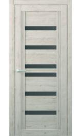Миссури Soft touch Кремовый стекло графит межкомнатная дверь