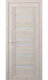 Миссури Soft touch Кремовый матовое стекло межкомнатная дверь