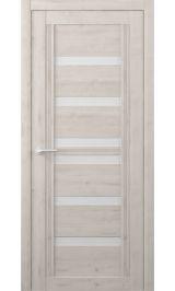 Миссури Soft touch Кремовый молочное стекло межкомнатная дверь