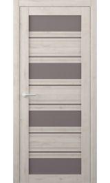 Монтана Soft touch Кремовый стекло мателюкс бронза межкомнатная дверь