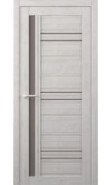 Невада Soft touch Жемчужный стекло мателюкс бронза межкомнатная дверь