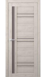 Невада Soft touch Кремовый стекло мателюкс бронза межкомнатная дверь
