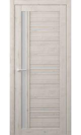Невада Soft touch Кремовый матовое стекло межкомнатная дверь