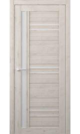 Невада Soft touch Кремовый молочное стекло межкомнатная дверь