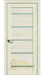 Йота-2 (м-2) Eco-Tex Капучино матовое стекло межкомнатная дверь