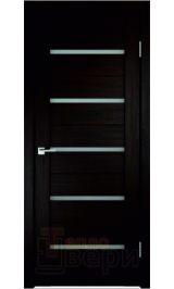Йота Eco-Tex Венге матовое стекло межкомнатная дверь