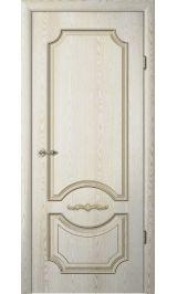 Леонардо ДГ ясень голд патина межкомнатная дверь