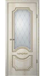 Леонардо ДО ясень голд патина межкомнатная дверь