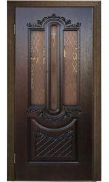 Александрия ДО шпон дуба Коллекция Silver межкомнатная дверь