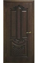 Александрия ДГ шпон дуба Коллекция Silver межкомнатная дверь
