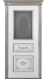 Вена ДО белая эмаль  Коллекция Silver межкомнатная дверь