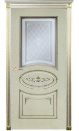 Верона ДО белая эмаль по шпону  Коллекция Silver межкомнатная дверь