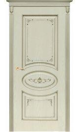 Верона ДГ белая эмаль по шпону  Коллекция Silver межкомнатная дверь