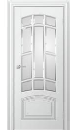 Lada до стекло матовое (белая эмаль) межкомнатная дверь