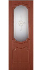 Пальмира ДО (итальянский орех) межкомнатная дверь (Остатки)