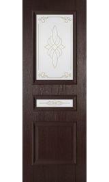 Трио ДО Венге межкомнатная дверь (Остатки)
