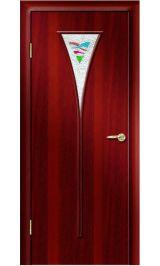 Премиум ДО-04 ФЬЮЗИНГ (итальянский орех) межкомнатная дверь