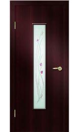 Премиум ДО-101 ФЬЮЗИНГ (венге) межкомнатная дверь
