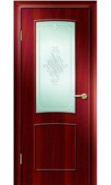 Премиум ДО-108 (итальянский орех) межкомнатная дверь (Витрина)