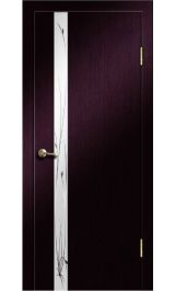 Стиль-1 зеркало (венге) межкомнатная дверь