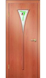 Премиум ДО-04 ФЬЮЗИНГ (миланский орех) межкомнатная дверь