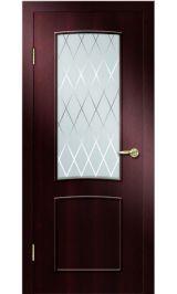 Премиум ДО-108 РОМБ (венге) межкомнатная дверь