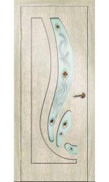 Риф ДО (седой дуб) ПВХ Премиум межкомнатная дверь