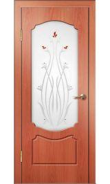 Кэрол ДО (миланский орех) ПВХ Премиум межкомнатная дверь (Остатки)