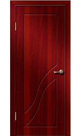 Жасмин ДГ (итальянский орех) ПВХ Премиум межкомнатная дверь (Остатки)