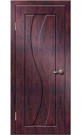 Камелия ДГ (тик) ПВХ Премиум межкомнатная дверь