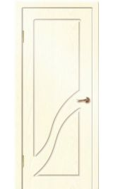 Жасмин ДГ (белый ясень) ПВХ Премиум межкомнатная дверь (Остатки)