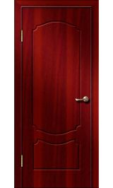 Кэрол ДГ (итальянский орех) ПВХ Премиум межкомнатная дверь (Остатки)