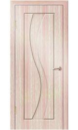 Камелия ДГ (светлый дуб) ПВХ Премиум межкомнатная дверь