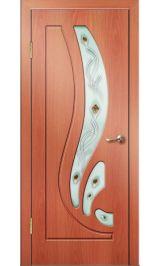 Риф ДО (миланский орех) ПВХ Премиум межкомнатная дверь