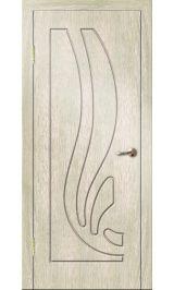 Риф ДГ (седой дуб) ПВХ Премиум межкомнатная дверь