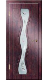 Каскад ДО (тик) ПВХ Премиум межкомнатная дверь