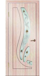 Риф ДО (светлый дуб) ПВХ Премиум межкомнатная дверь