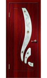 Риф ДО (итальянский орех) ПВХ Премиум межкомнатная дверь