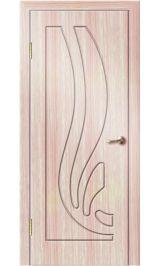 Риф ДГ (светлый дуб) ПВХ Премиум межкомнатная дверь