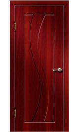 Камелия ДГ (итальянский орех) ПВХ Премиум межкомнатная дверь