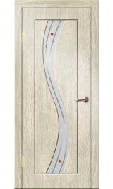 Камелия ДО (седой дуб) ПВХ Премиум межкомнатная дверь