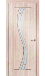 Камелия ДО (светлый дуб) ПВХ Премиум межкомнатная дверь