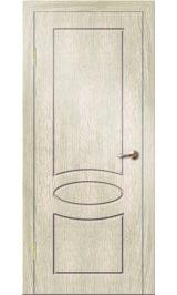 Алина ДГ (седой дуб) ПВХ Премиум межкомнатная дверь