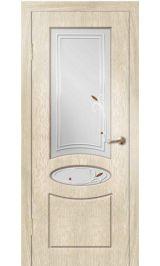 Алина ДО (седой дуб) ПВХ Премиум межкомнатная дверь