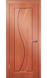 Камелия ДГ (миланский орех) ПВХ Премиум межкомнатная дверь