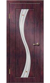 Камелия ДО (тик) ПВХ Премиум межкомнатная дверь